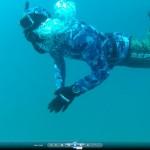 עומרי דופק צעקה מתחת למים בצלילה חופשית