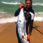 """אורי בינסטד עם פלמידה 17.5 ק""""ג דייג בצלילה חופשית"""
